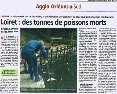 Article de presse de la République du Centre d 25-07-2015...