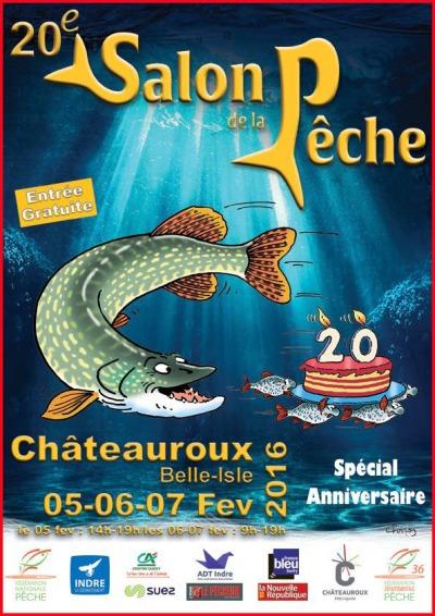 20 salon de la pêche à CHATEAUROUX