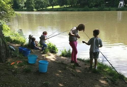 Quelques pêcheurs en action...